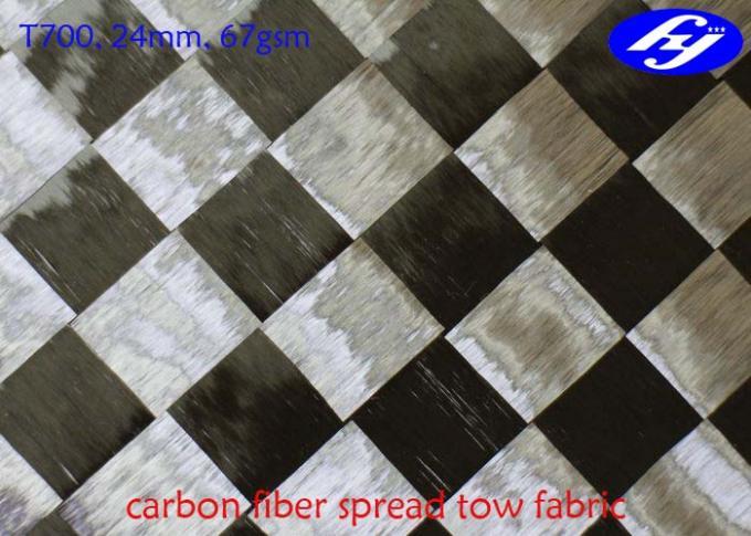 Wide 67GSM Carbon Fiber Fabric Toray 12K T700 Ultra Light Carbon