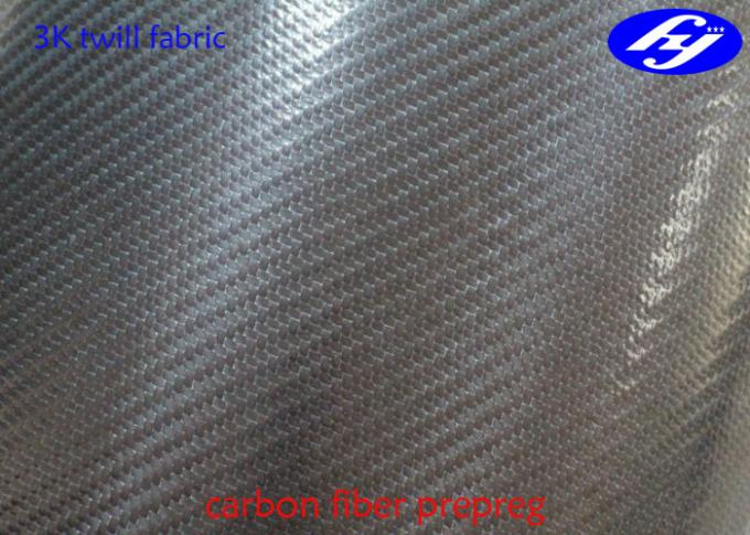 3K Twill Carbon Fiber Fabric Epoxy Resin Prepreg Without Air Hole