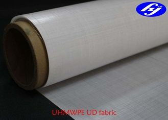China Nonwoven Ballistic UHMWPE Fabric 135GSM For Bullet Proof Vest supplier