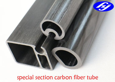Special Section Pultruded Carbon Fiber Rod For Outdoor Main Structural Body