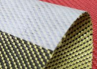 China 3x1 Twill Aramid Fiber Fabric 240GSM With Anti Dispersing Linning factory