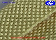 Plain Kevlar Aramid Fiber Fabric 3000D 270GSM For Structure Reinforcement