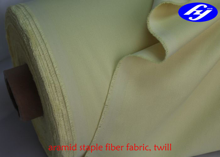 Lightweight Aramid Fiber Fabric 250gsm Chemical Resistant With Good Performance