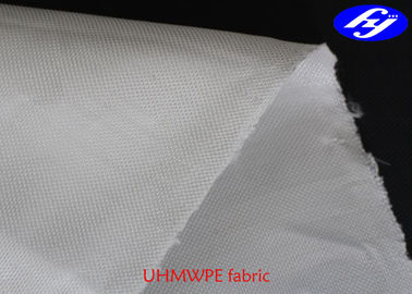 400D Plain Puncture Proof UHMWPE Fabric Fiber 125GSM For Bullet Proof Vest