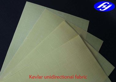 4 Ply 0 / 90 / 0 / 90 Kevlar Ballistic Fabric For Bullet Proof Vests / Body Armour