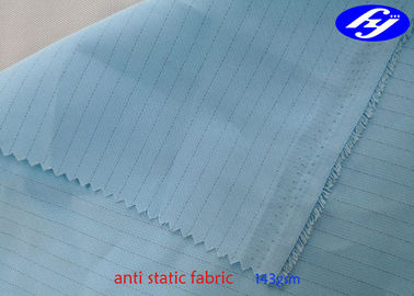 Polyester Anti Static ESD Fabric For industry electrical uniform